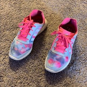 Adidas Boost Pink Tie Dye Size 10
